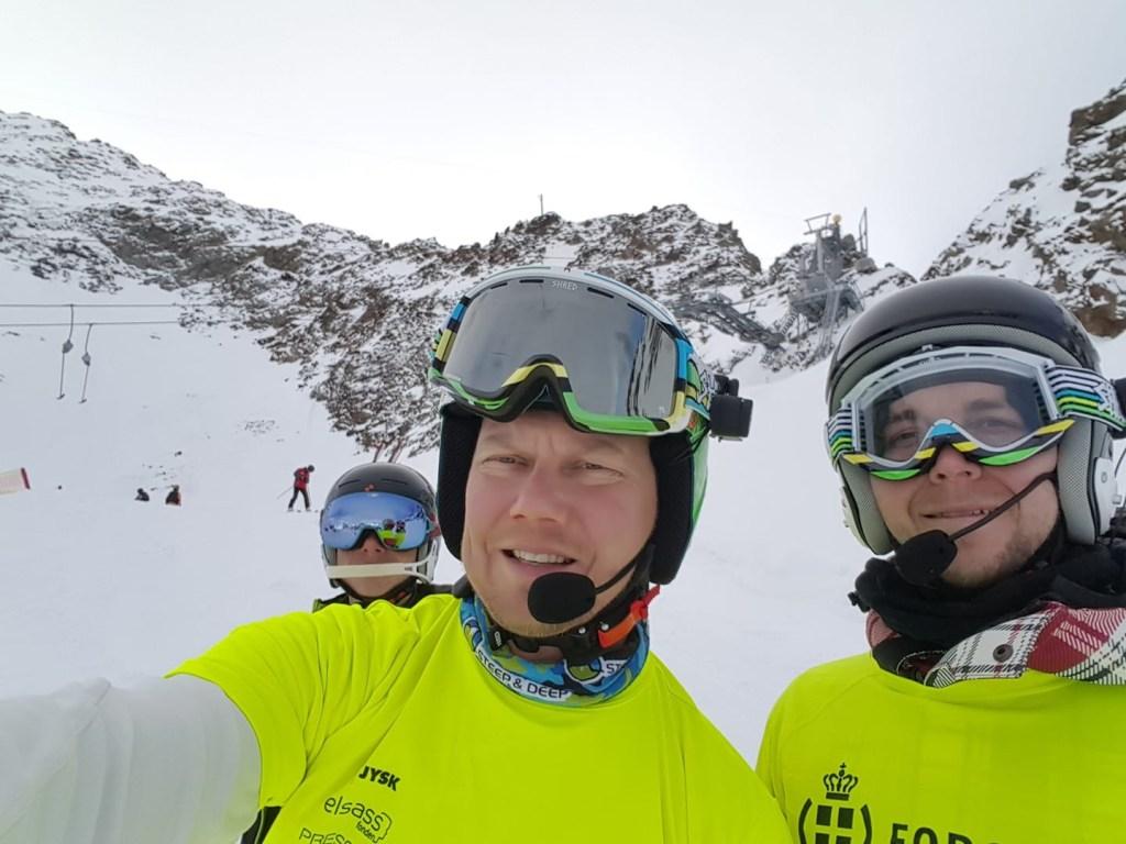 Kristian på ski