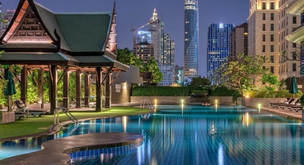 Thailand Bangkok Athenee Hotel Sukhumwit - Reise - Thailand som et reiseland - Reise til Thailand