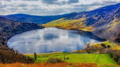 Irland - Lough Tay - rejser
