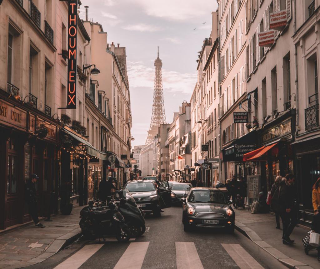 France, Paris, rue, voyage, l'une de mes 5 meilleures destinations