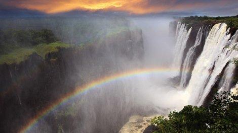 Victoria Falls, Sydafrika - rejser