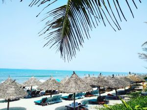 Vietnam Hoi An Beach plážové prázdninové cestování