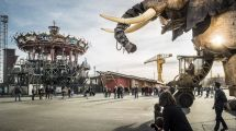 Frankrig - Nantes, forlystelser, elefant - Rejser