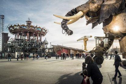França - Nantes, passeios, elefante - Viagem