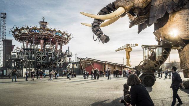 France - Nantes, rides, elephant - Travel
