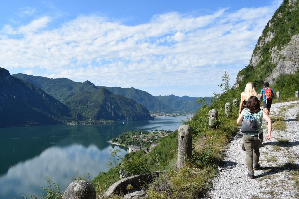 Italya - Lago d'Idro - paglalakbay