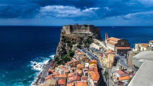 Italy Calabria Scilla travel