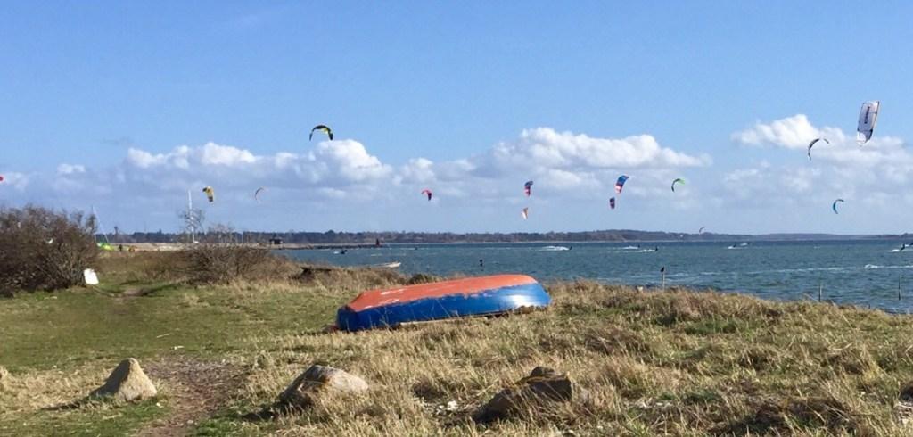 Danmark Nordsjælland Kitesurfing Lynæs rejser havn