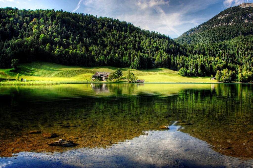 Østrig - Kitzbühel Tyrol - landskab golfrejse - rejser