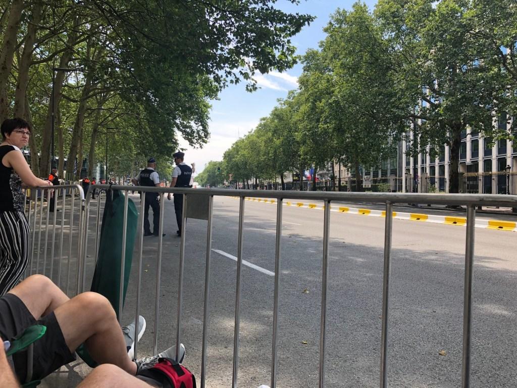ベルギーブリュッセルブリュッセル自転車レースツールドフランス旅行