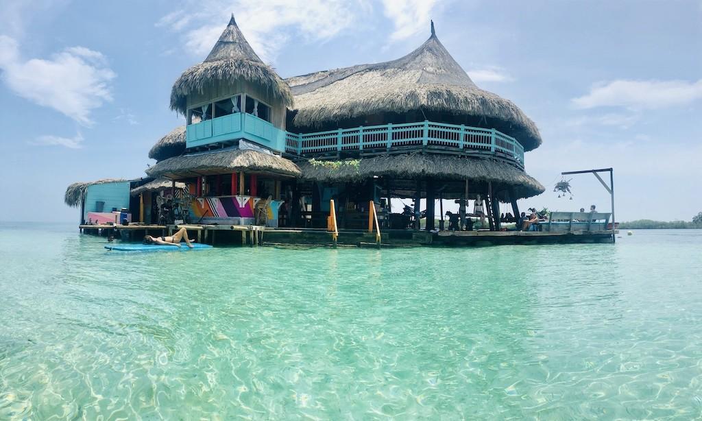 Colombia Casa en el agua Cartagena Rejser