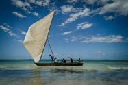 Tanzania - Zanzibar, dhow - paglalakbay