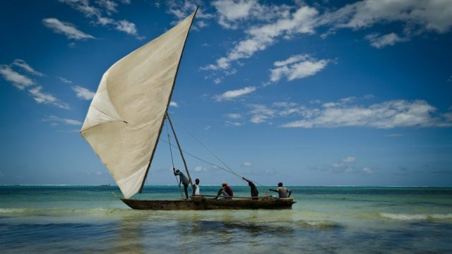 Tanzania - Zanzibar, dhow - reise