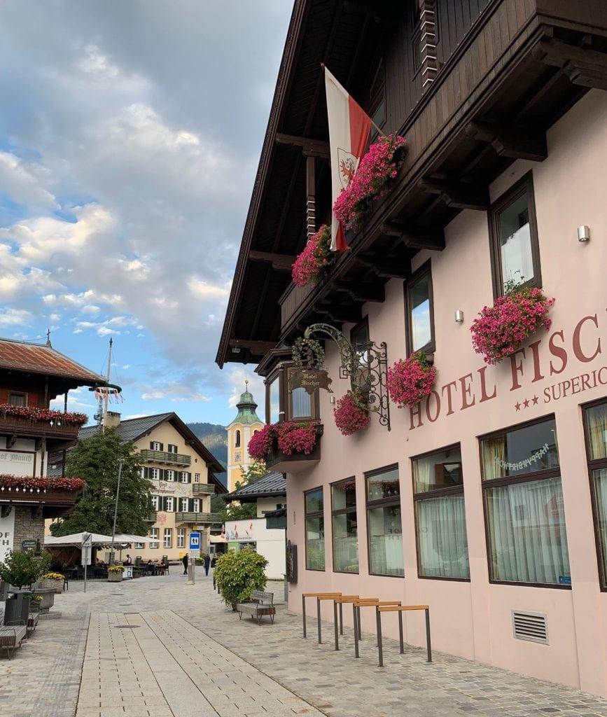 Austria Tyrol st johann hotel fischer paglalakbay