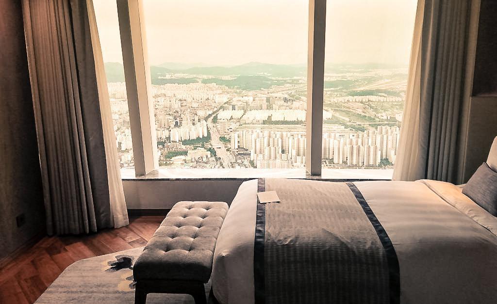 Sydkorea, Seoul, Signiel, udsigt, værelse - rejser