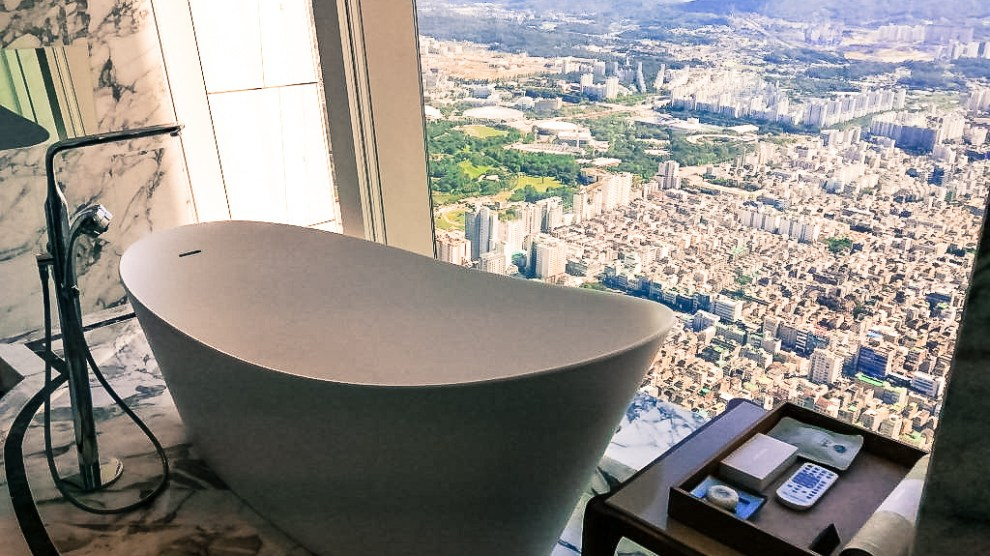 South Korea - Seoul, Signiel, Presidential Suite, View - Travel