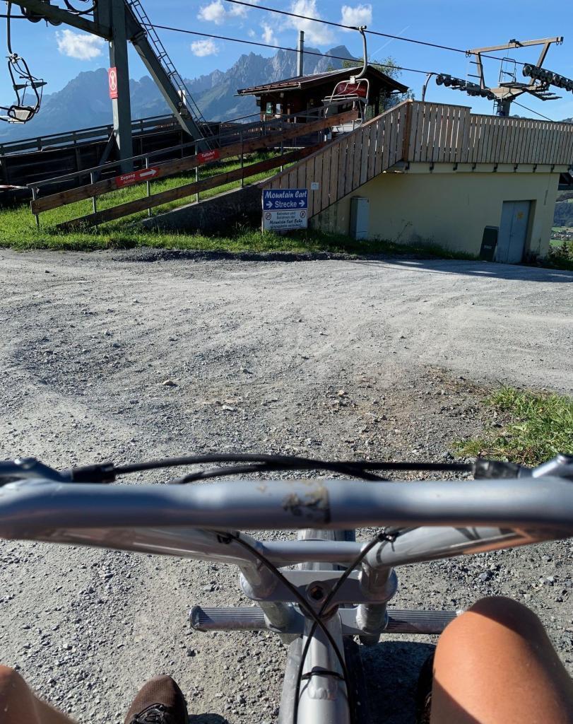 Austria Tyrol st johann bundok ng mga cart ng mangingisda paglalakbay