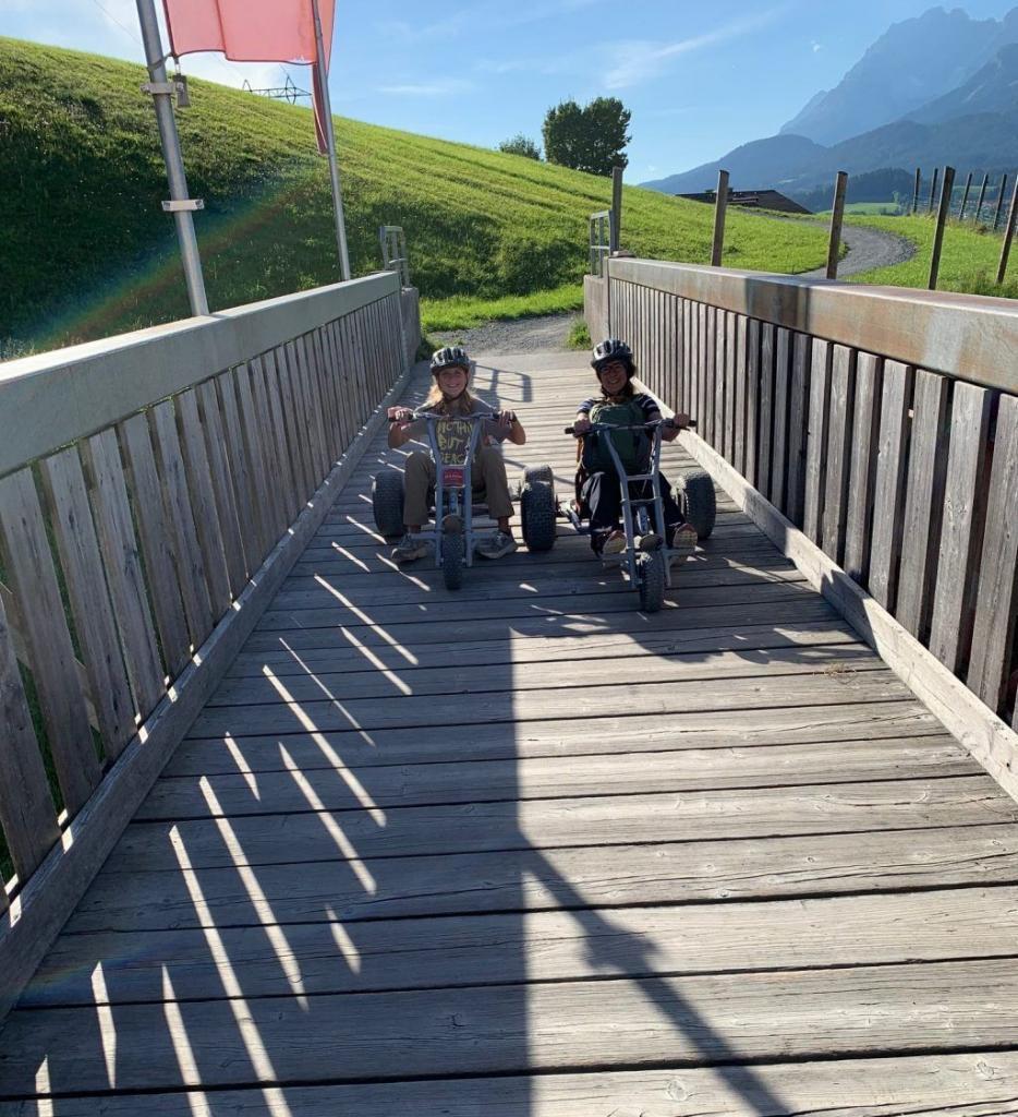 Østrig Tyrol st johann bjerg mountain carts rejser