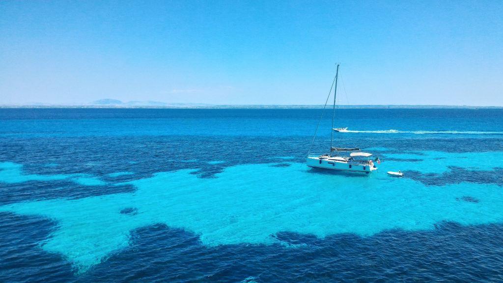 Italia Sicilia Favignana isola senza auto - niente code - Viaggi, isole in Europa