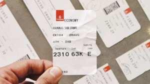 boardingkort flybillet fly rejser