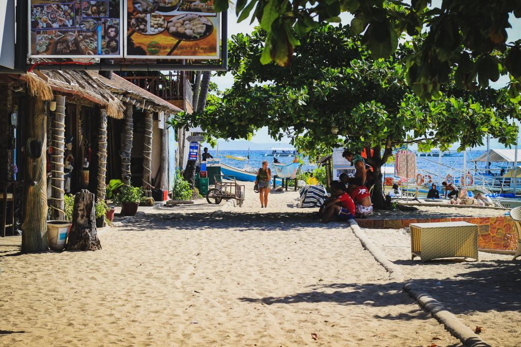 Malapasqua, filippinerne, rejser, sandstrande, Malapasqua ø, palawan