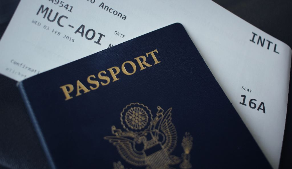 Passports, Boarding passes, Travel - leave