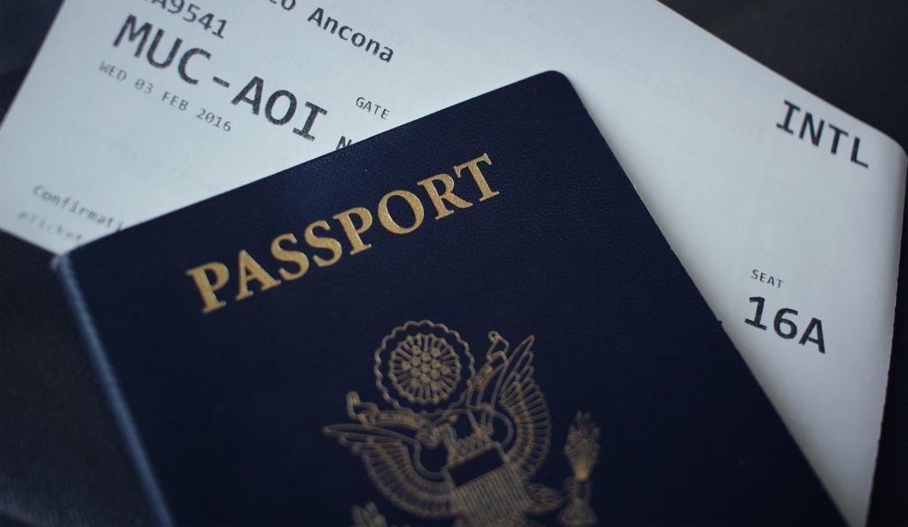 Pas Boardingkort Rejser