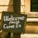 welcome, velkommen
