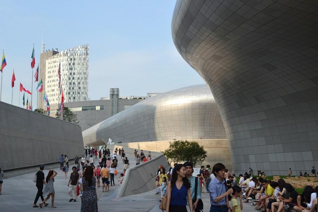 Sydkorea - Seoul, DDP - rejser
