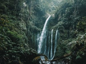 Bali - Lombok - fossefall - reise