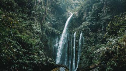 Bali - Lombok - şelaleler - seyahat