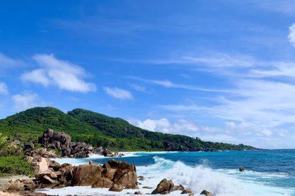 Seychellerna - la digue - resa