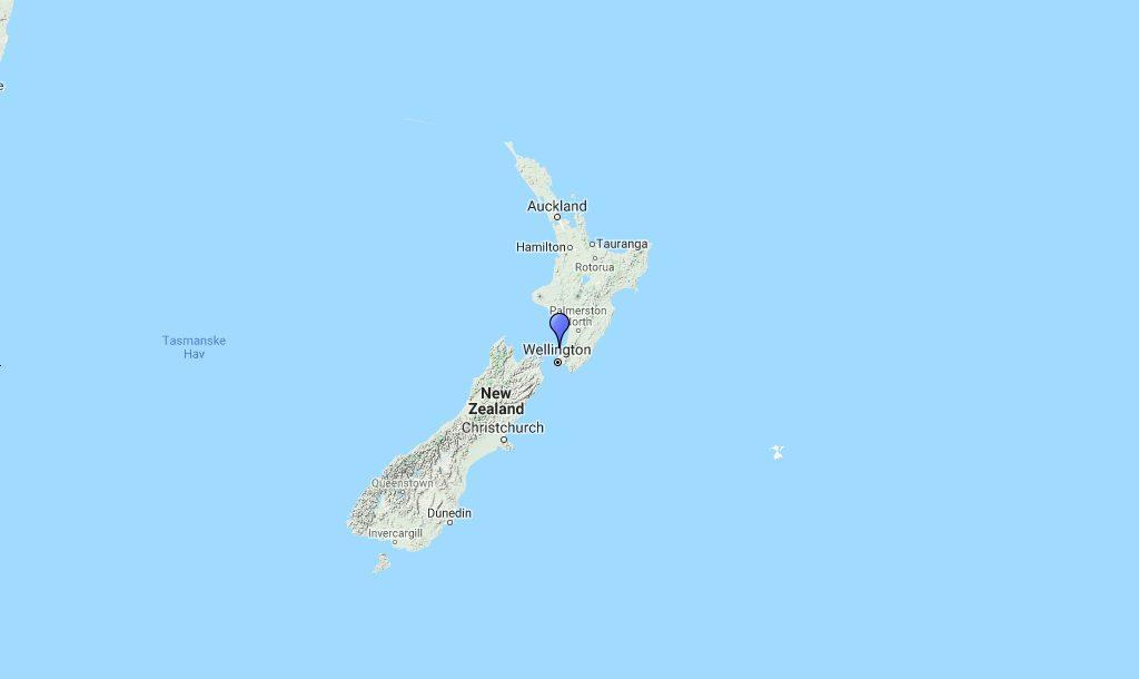 New Zealand Kort Rejser