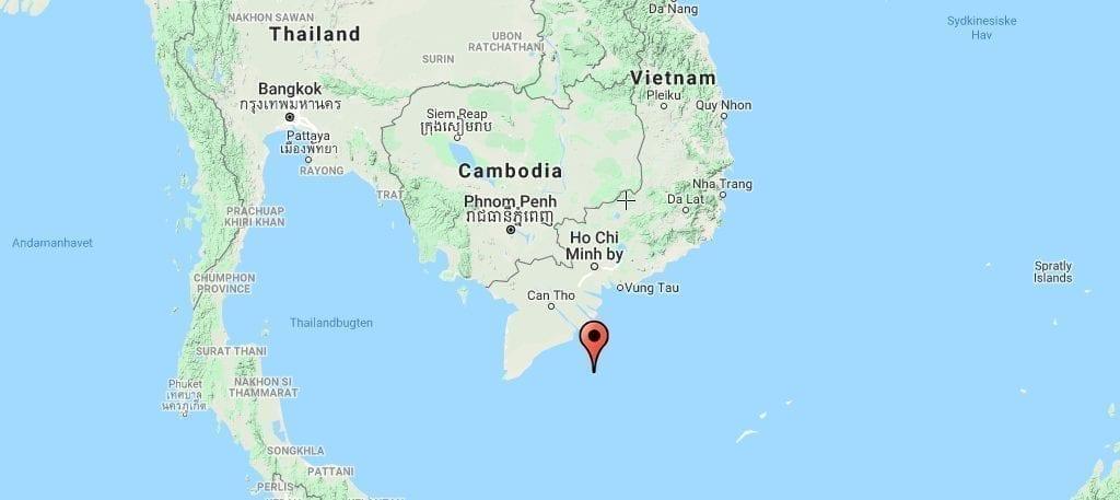 Vietnam Con Dao Kort Rejser