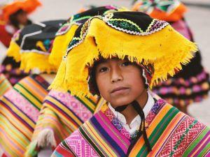 Peru Cusco Boy Travel