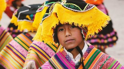 Peru Cusco Boy Travel