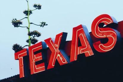 USA Texas Marfa Skilt Rejser