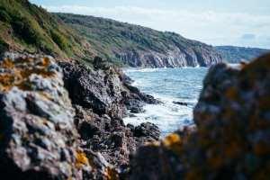 Denmark Paglalakbay sa isla ng Bornholm rock