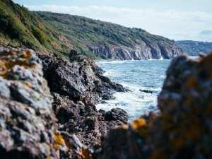 Danmark Bornholm øy rock reise