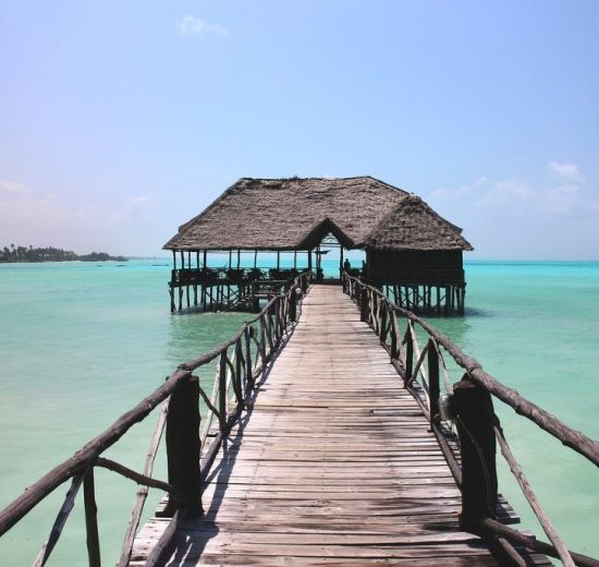 Africa Zanzibar Bridge Travel