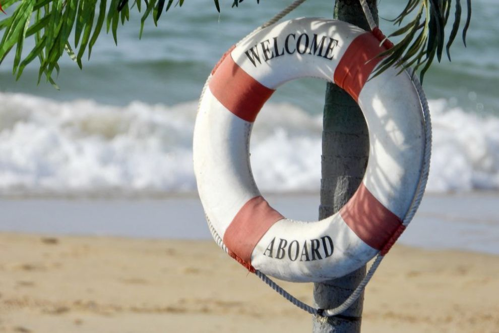 Strand, velkommen