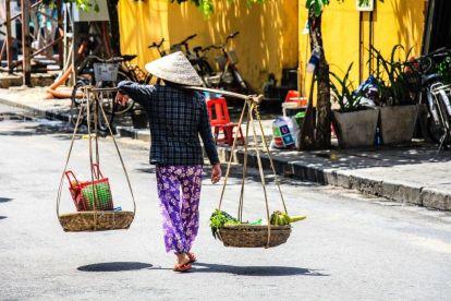 Vietnam Hoi An Kvinde Rejser