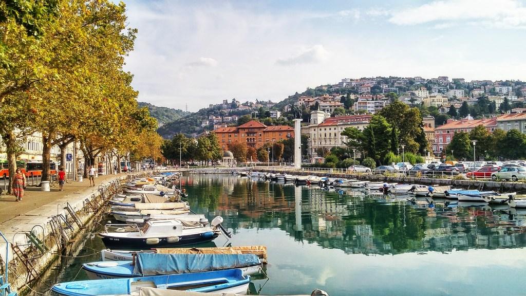 Kroatien Balkan Rijeka Flod Rejser