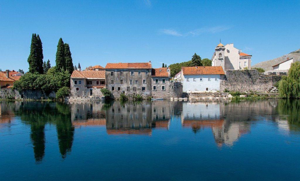 Bosnien-Hercegovina Balkan Trebinje Gamle Huse Rejser