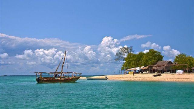 Africa Zanzibar Boat Sea Travel