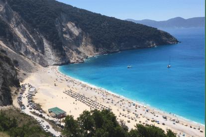 Greece - Kefalonia - Myrtos Beach - travel