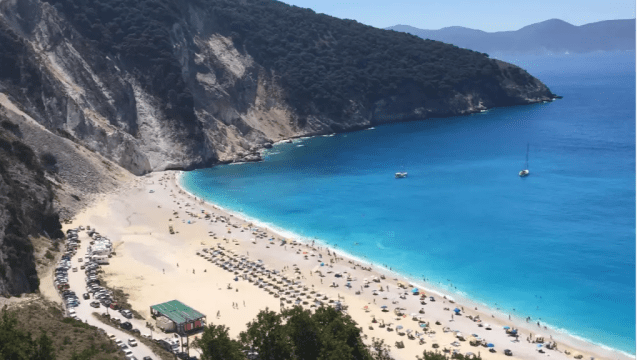 Greece - Kefalonia - Myrtos Beach - travel