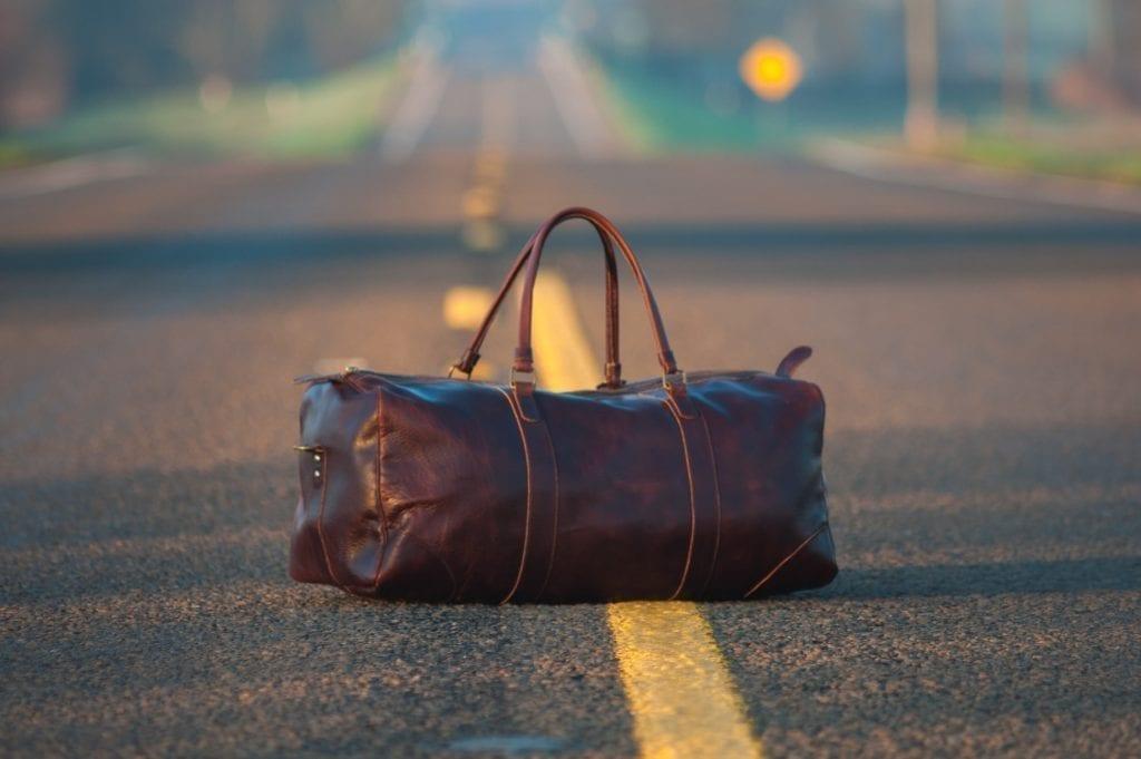 Suitcase - travel bag - travel
