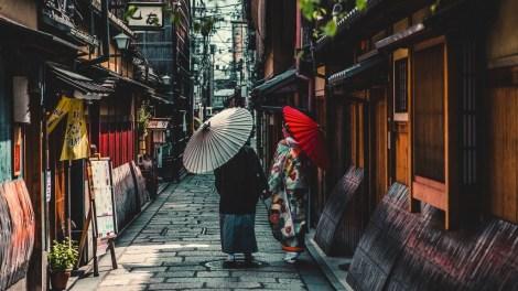 Japan Kyoto Gade Rejser