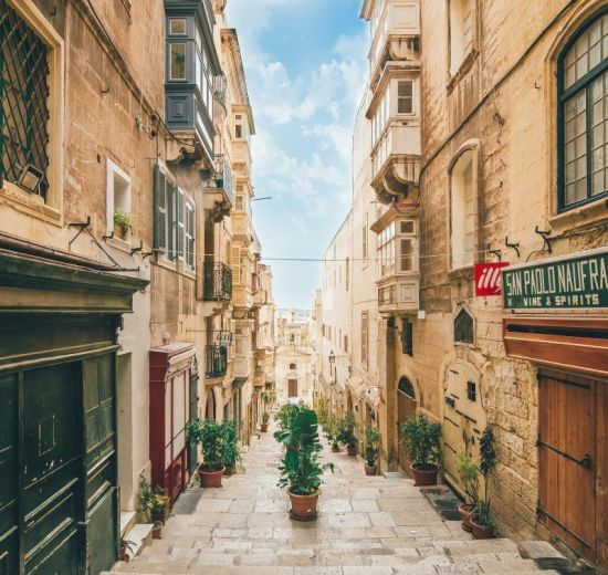 Malta Gade Rejser